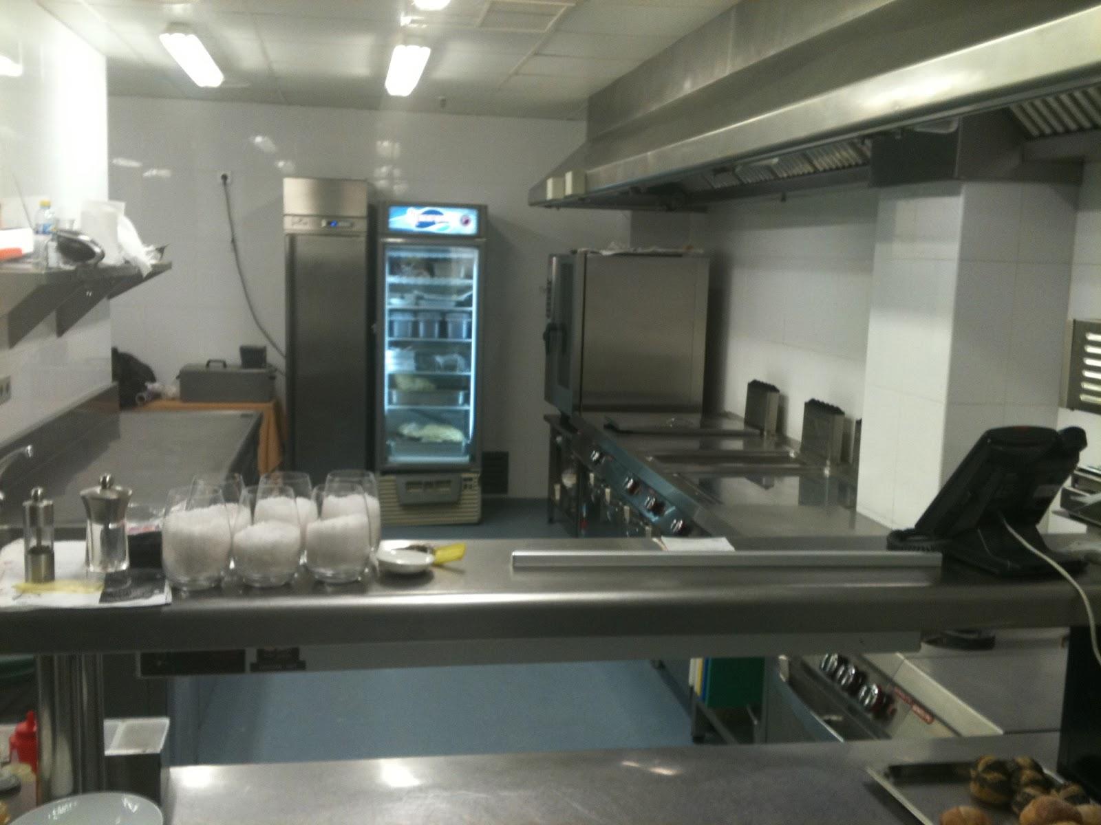 El laboratorio gastronomico mi cocina en el trabajo for Distribucion de una cocina para restaurante