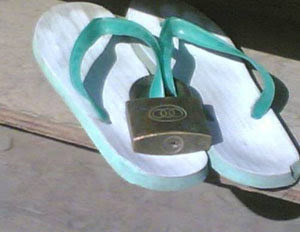 locking-your-slippers