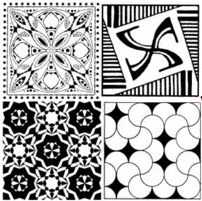 Geometric Patterns Stencils - Geometric Patterns Laser Cut Mylar