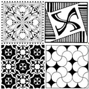 Geometric Patterns Stencils - Geometric Patterns Laser Cut Mylar