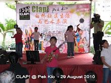 CLAP! @ Pek KIo - 29 AUG 2010