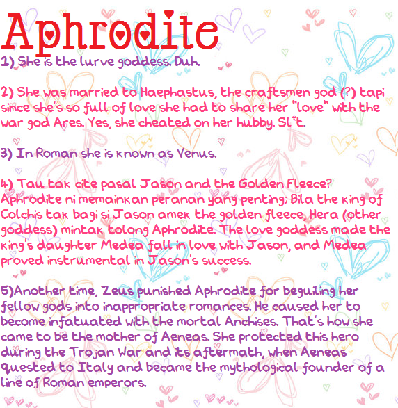 a review of the story of aphrodite Aphrodite v #2 continues to build its story with some solid storytelling and action from the creative team here this time around, we get more focus on aphrodite she decided to come over to martin's house because the two of are connected in a way due to the experiments martin's father was a .