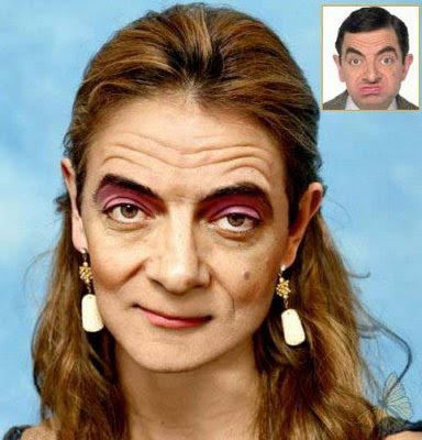 serba serbi Mr.Bean Mr_BeanWife