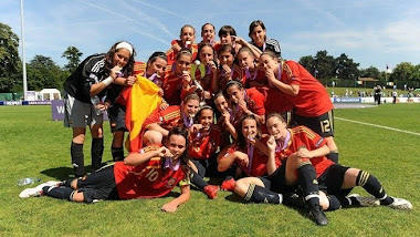 ESPAA CAMPEONAS DE LA EURO FEMENINA SUB 17