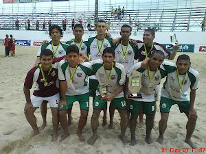 SELEÇÃO DE BEACH SOCCER DO RN CAMPEÃ BRASILEIRA 2007