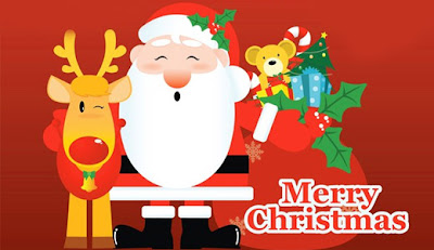 Papai Noel e sua Rena