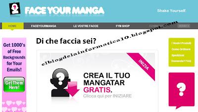 Crear avatar 2D para blog, messenger, space, etc... - página pricipal