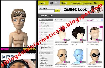 crear avatar en 3D - personalización