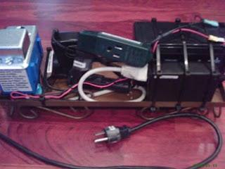 DIY Uninterruptible Power Source for Aquarium