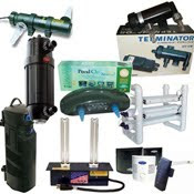 Home, Business Air Purifier, AQuarium, Pond UV Sterilizer, Clarifier