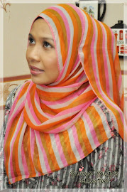 Shawl Colourful Line