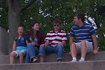 Julia, Kaitlyn, Tim & Nick