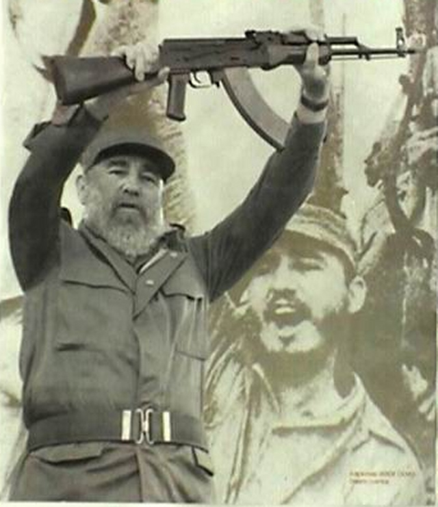 Fidel Castro Gun | www.imgkid.com - The Image Kid Has It!