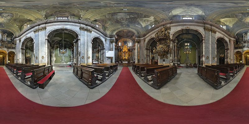 Budapest, Egyetemi templom gömbpanoráma