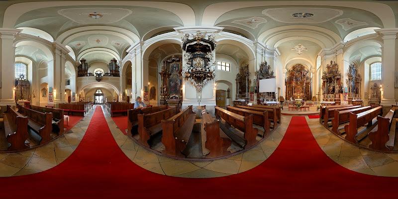 Váci ferences templom gömbpanorámája