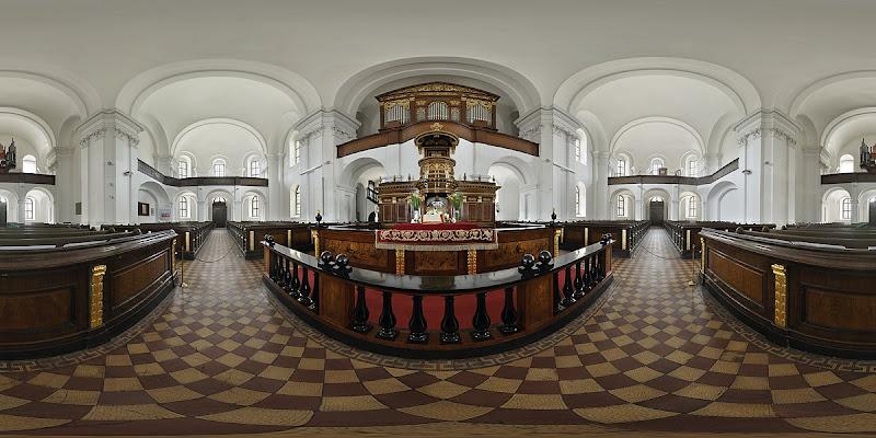 Debreceni Református Nagytemplom gömbpanoráma