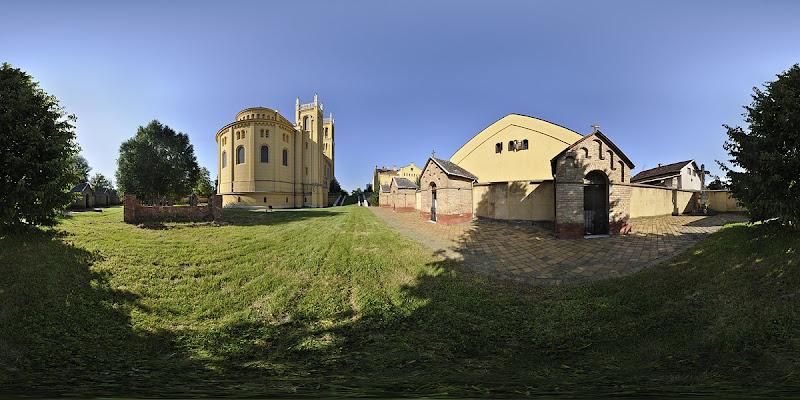 Fóti templom gömbpanoráma