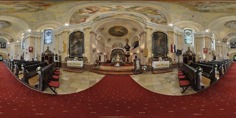 Máriabesnyői Bazilika - gömbpanoráma