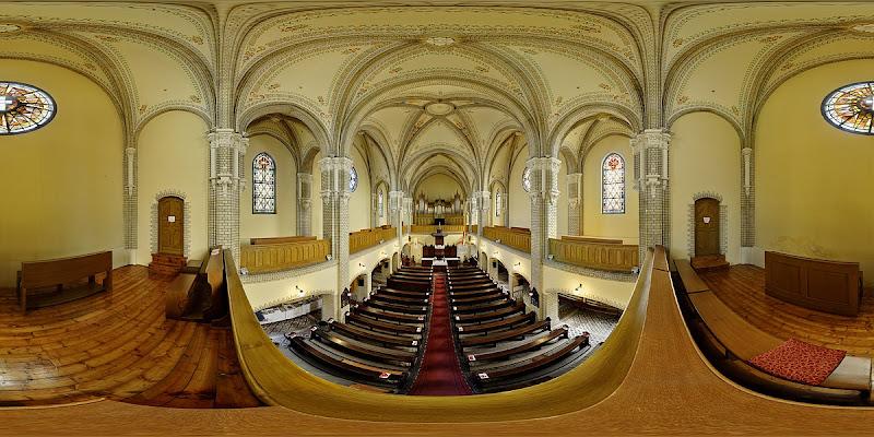 Kőbányai református templom gömbpanoráma