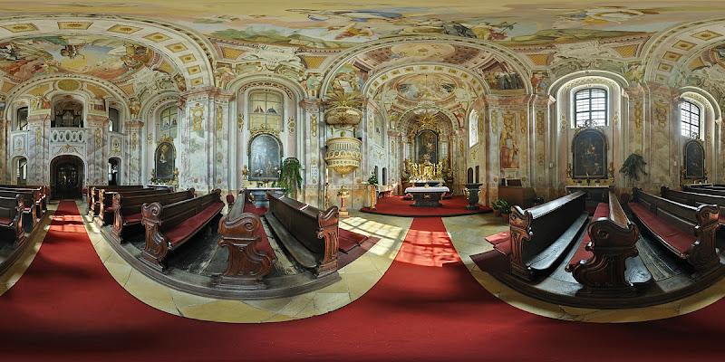 Szt. ignác templom - gömbpanoráma