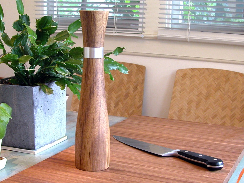 Studio44eighty - Teak Pepper Mill