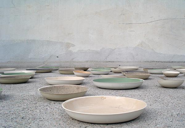 Kirstie Van Noort - Coloured Bowls