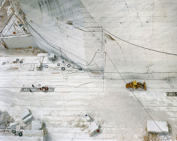Edward Burtynsky - Carara Marble Quarries 24