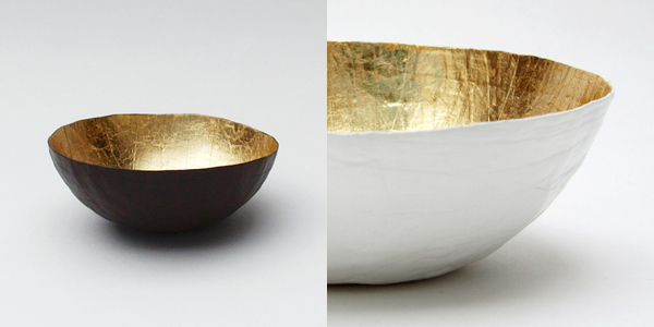 Etco - gold paper mini bowls