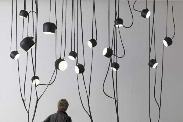 Ronan and Erwan Bouroullec - lianes interconnected lamps