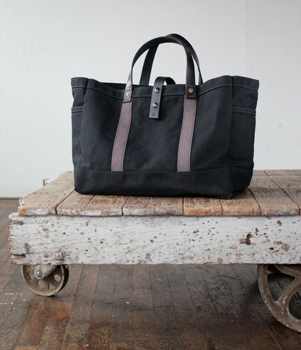 Artifact Bags - No. 175 Tote in Waxed Canvas