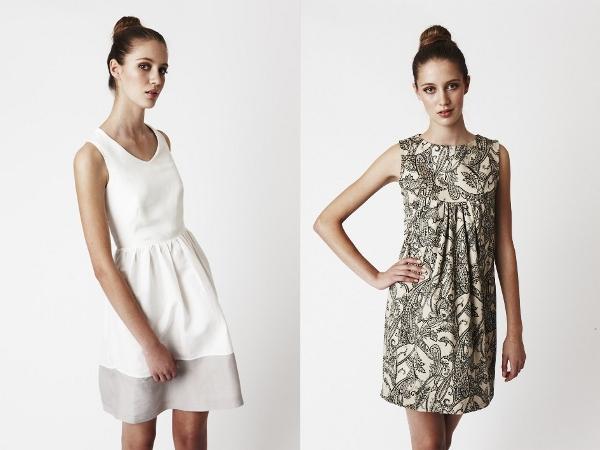 Three Little Ducks - Evelyn Dress and Ink Iku Dress