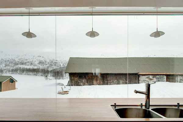 ly arkitekter - strynefjell house renovation