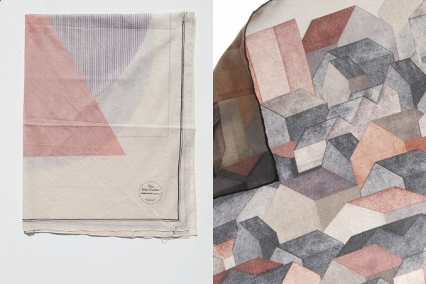 cosmic wonder silk scarf at maryam nassir zadeh and saturno casas scarf in brick red