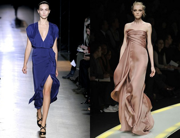 Roland Mouret  SS2011 RTW and Donatella Versace F2008 RTW