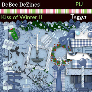 http://debeedezines.blogspot.com/2009/12/kiss-of-winter-treasured-scraps.html