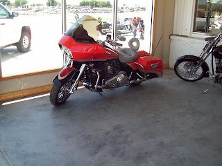 NORTH TEXAS BIKERS III  Sissys New Trike  Lake Arrowhead the