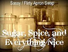 Sassy flirty apron swap 2009