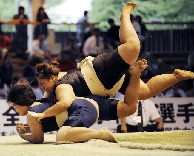 Sumo feminino: How Brazils female sumo wrestlers are
