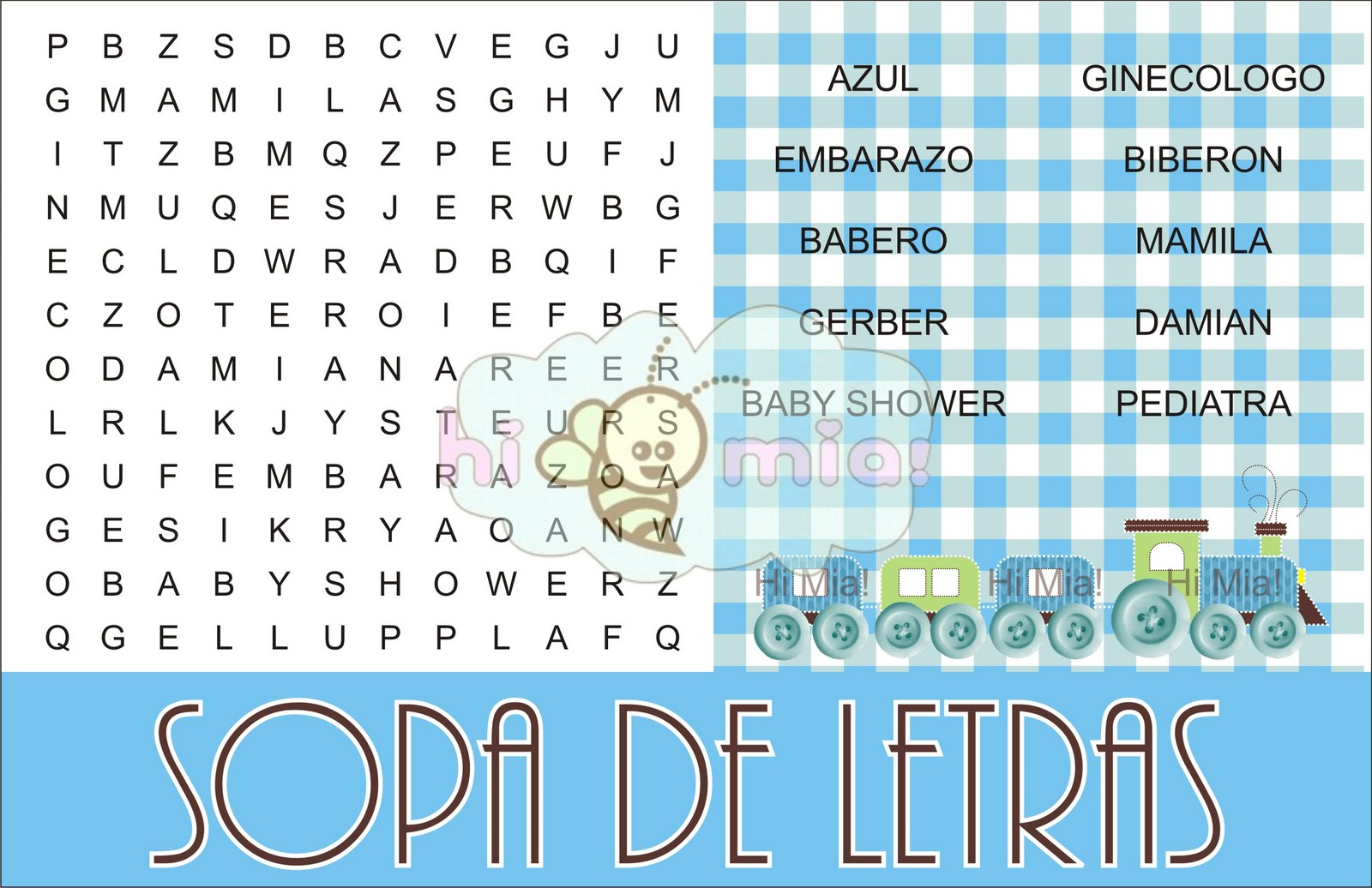 Invitaciones Para Baby Shower Fomi Graffiti