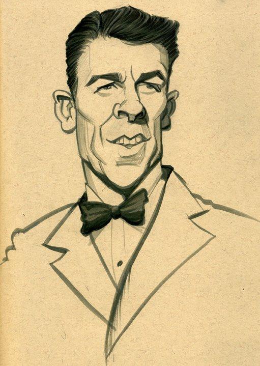 ronald reagan caricatures pinterest ronald reagan