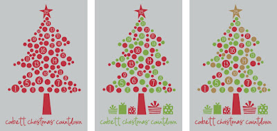 countdown to christmas with vinyl project ideas - Christmas Countdown Ideas