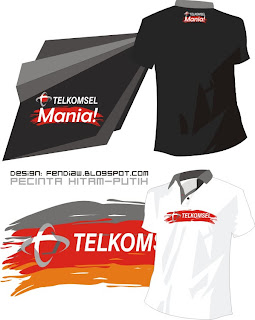 telkomsel Clothing, Desain, Distro, T-Shirt, Kaos, Oblong, Telkomsel