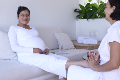 swelling or edema during pregnancy is normal but can leave the ...