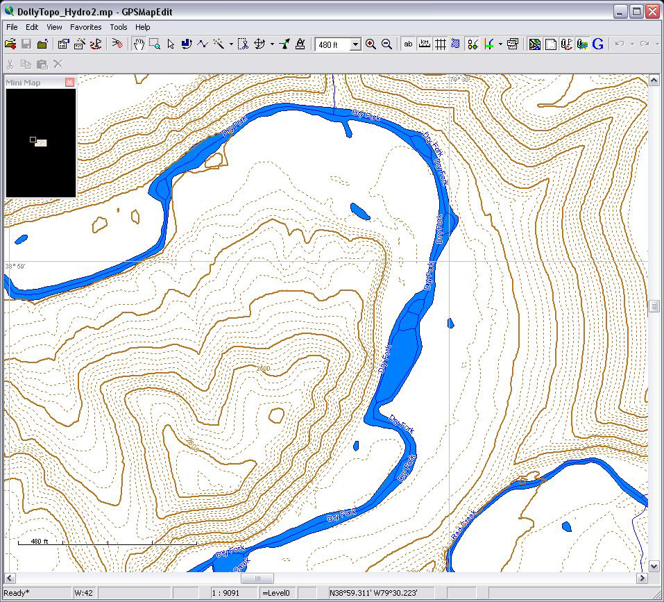 how to take utm readings on a topographic map