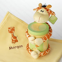 Jo Jo giraffe Blanket and plush baby gift