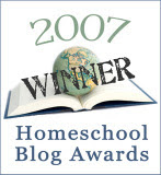 "Winner of ""Best Cyber-Buddy Blogger"""