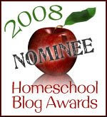 Nominated for Best Thrifty Homeschool Blog