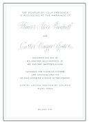 Back of the reception card (bennett invite )