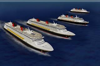 four ships