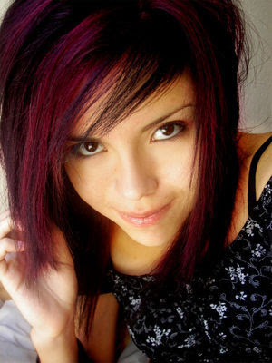 Emo Scene Girls Hairstyles